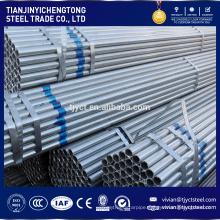 Tianjin steel manufacturer Q345 material galvanized steel pipe
