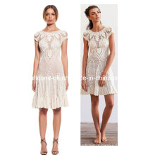 Senhoras Lace Hand Crochet Vestidos Handmade Poncho Beach Cover up