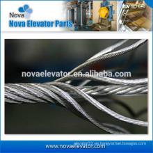 Cable de alambre de acero de elevación 8 * 19s + FC