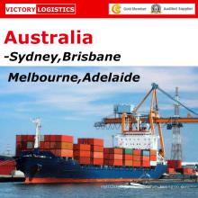 Freight Forwarder/logistique, expédition de Chine à Sydney, Brisbane, Melbourne, Australie