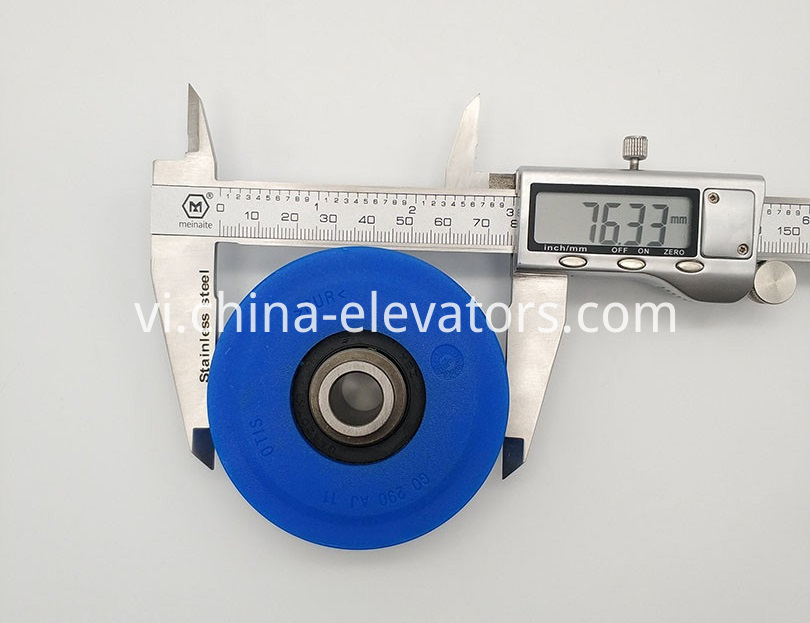 OTIS Step Roller with Special-shaped Bearing 76*21.5*6005