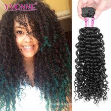 Meilleure vente de cheveux brésiliens vierges non traités de catégorie 7A