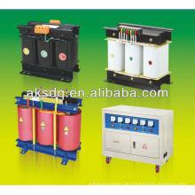 SG dreiphasigen trockenen elektrischen Transformator 220V bis 12v