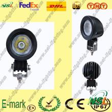 Lampe de travail à LED 10W, Lampe de travail à LED de la série Creee, Lampe de travail à LED 12V CC pour camions