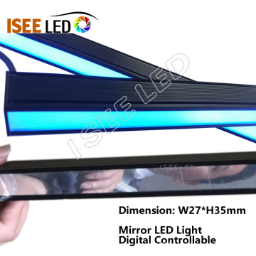 Mirror Surface LED Lamp Dynamic Color Change