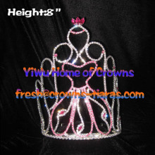 Alice Beauty Crystal Pageant Crowns