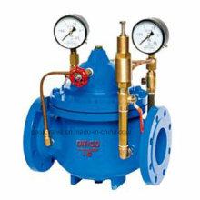 Válvula reductora de presión de agua tipo diafragma 200X