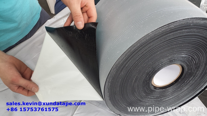 Metallic Pipe Double Side Adhesive Butyl Rubber Corrosion Control Tape