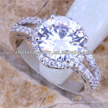 коренной американец обручальное кольцо алмаз черепа обручальное кольцо 18k белое золото покрыло кольцо