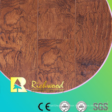 Commercial 8.3mm E1 HDF Embossed Oak V-Grooved Waterproof Laminated Flooring