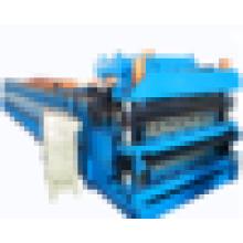 Machine de formage de rouleaux à double couche froide de meilleur vendeur