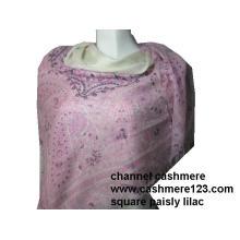 Кашемир площади Розовый Пейсли Ty0915