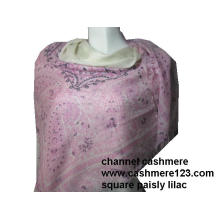 Cashmere Quadrado Rosa Paisly Ty0915