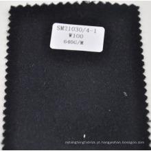 design clássico 100% lã sobretudos tecido
