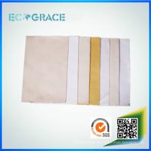 Resistente a altas temperaturas 100% Meta Nomex filtro de tela para la planta de asfalto