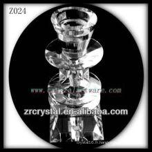 Bougeoir en cristal populaire Z024