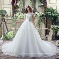 Speed sell through the new marriage gauze Bud silk of tall waist harness chiffon dress fish cut wedding dress