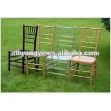 Verschiedene Farben Bankett Harz chiavari Stuhl für Party