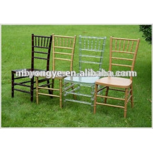 Différentes couleurs Banquet resin chiavari Chair for party