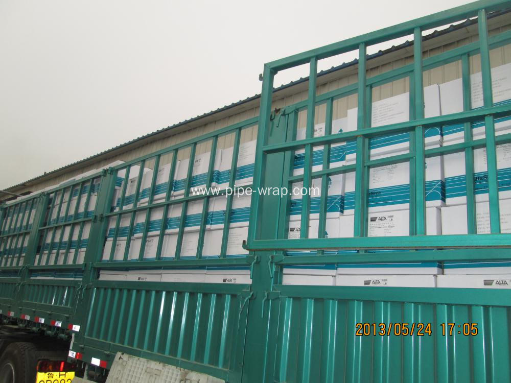 Width 150mm pipe coating from China workshop