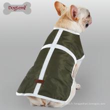 2017 Réversible Pet Vêtements Résistant à L'eau D'hiver Chien Manteau De Pluie Veste Réfléchissant