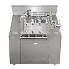 2 stages 2000L/h flow milk homogenizer machine