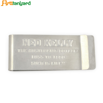 Men's Money Clip With Customer Logo