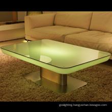 Decorative LED Glow Table Illuminated Bar Furniture (H022)