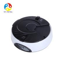 6 comidas Automatic temporizado pet dog dog alimentador eléctrico pantalla LCD electrónico programable porción de control