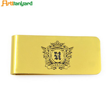 China Gold Supplier for Cool Money Clips Metal Card Holder With Money Clip export to South Korea Factories