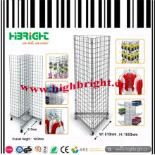 Steel Wire Mesh Floor Display