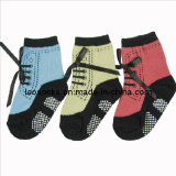 Fashion Anti-Slip Baby Socks (DL-BB-72)