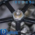 Импорт и дистрибуция Промышленный запорный вентильный клапан Didtek для ядерной энергетики