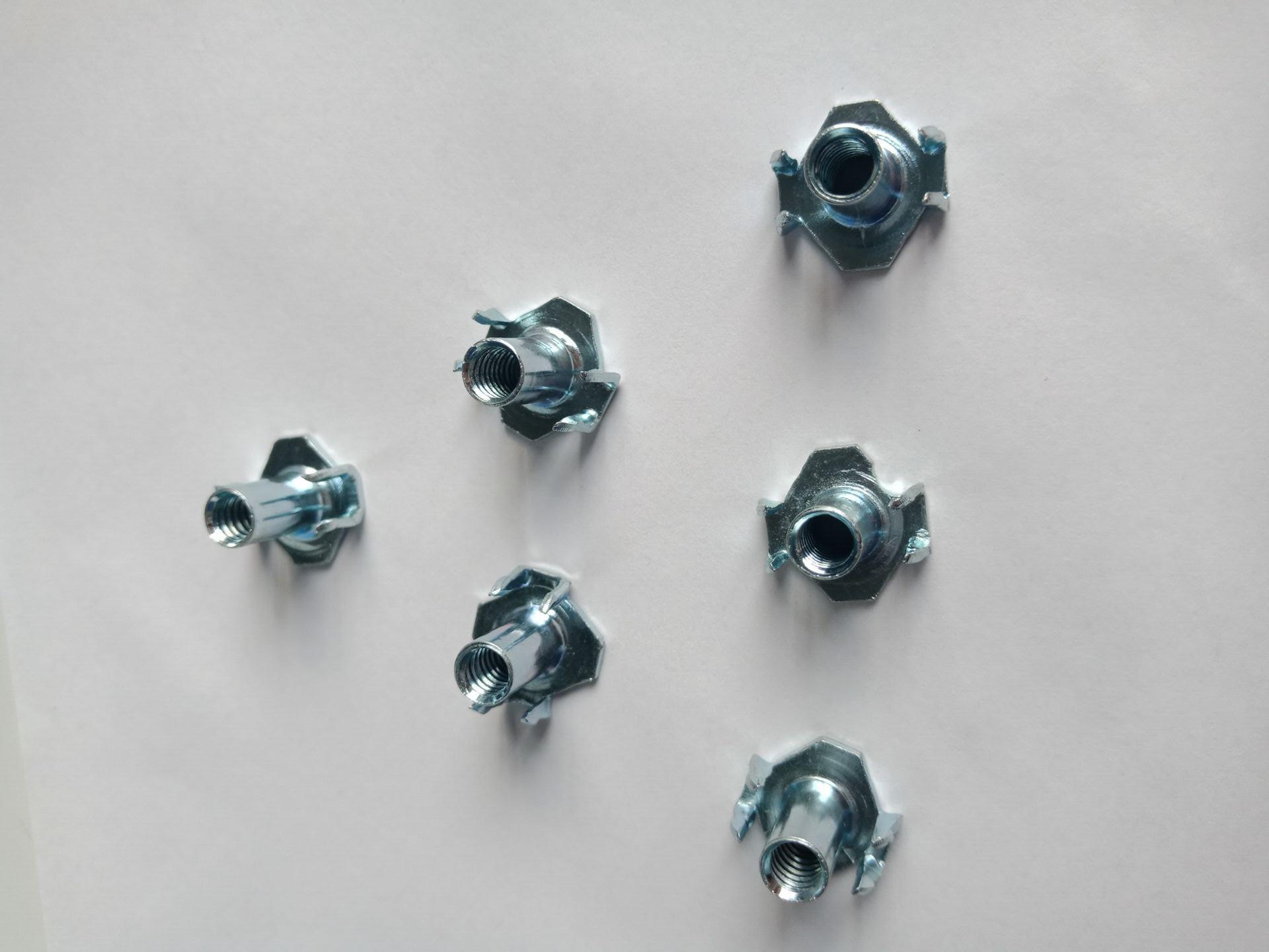 Half Thread Carbon Steel Tee Nuts