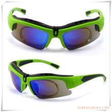 Werbegeschenk für Fahrrad Eyewears / Goggles mit austauschbarer Systemlinse