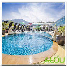 Audu Thailand Sunny Hotel Project Wicker Sun Lounger
