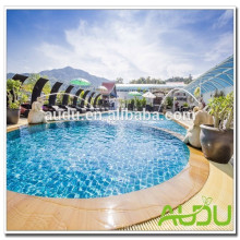 Audu Tailândia Sunny Hotel Project Wicker Sun Lounger