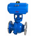 Pneumatic Actuated Flanged Floating Cutting-off Ball Valve (GZSHO)