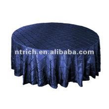Tissu de table taffetas de pintuck Wsterproof, couverture de table pour restaurant