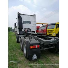 Motor principal usado do caminhão com cabeça de trator HOWO 420hp
