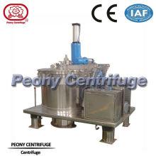 Scraper Bottom Discharge Basket Centrifuge , Continuous Flow Centrifuge