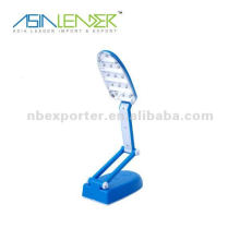 13-LED pliable led lumière nuit lampe de lecture nouveauté livre lumières