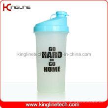 700ml Plastik-Protein-Shaker-Flasche mit Filter (KL-7013)