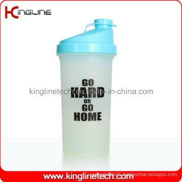 700ml Plastic Protein Shaker Bottle with Filter (KL-7013)