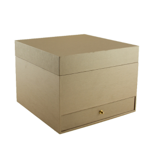 High End Custom Multi-Function Brown Gift Packing Box