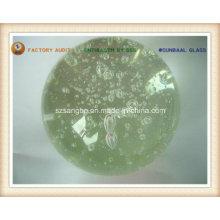 Esfera de vidro bolha