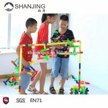 Brinquedos mais populares para crianças, inspirar crianças imaginação, educacional com caixa de armazenamento