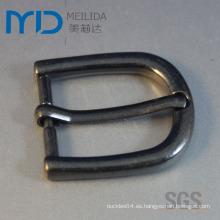 Sin plomo y níquel libre hebillas de cinturón de pin hecha de aleación de zinc para las ventas