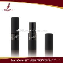 Venta al por mayor de aluminio de la fábrica venta al por mayor del lápiz labial negro