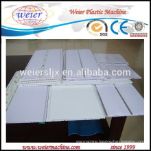 double screw extruder to make PVC ceiling tiles